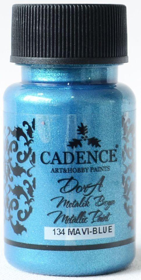 Mavi Cadence Dora Metalik Boya 50ML(cc) 134 renkleri