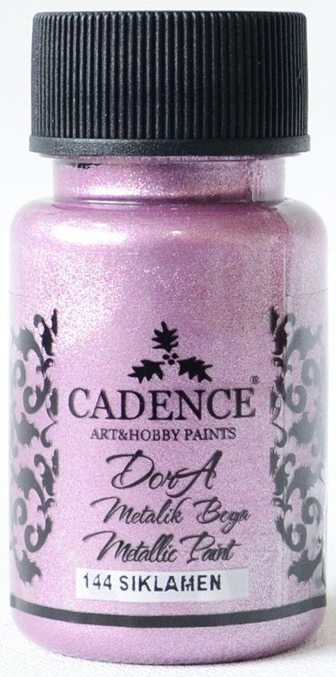 Siklamen Cadence Dora Metalik Boya 50ML(cc) 144 renkleri