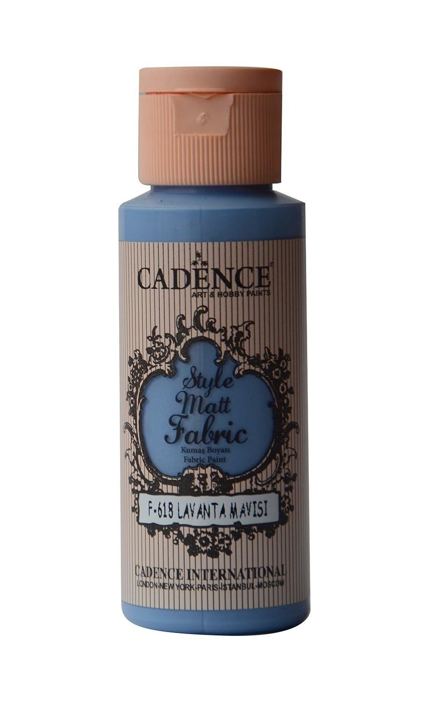 618 Lavanta Mavisi Kumaş Boyası 59ML(cc) renkleri