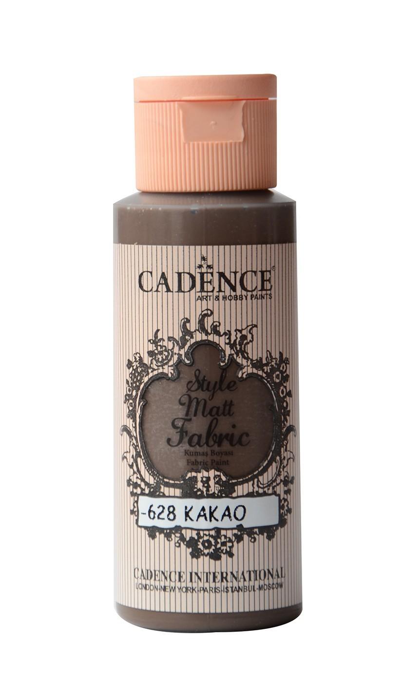 628 Kakao Kumaş Boyası 59ML(cc) renkleri