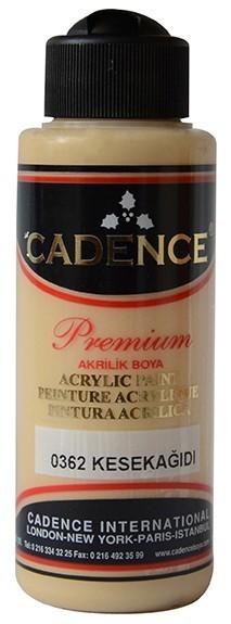 Cadence Akrilik Boya 120ML(cc) 0362 Kese Kağıdı renkleri