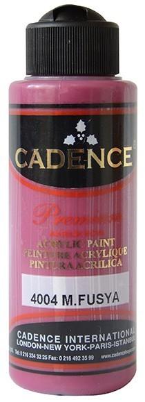 Cadence Akrilik Boya 120ML(cc) 4004 M. Fuşya renkleri