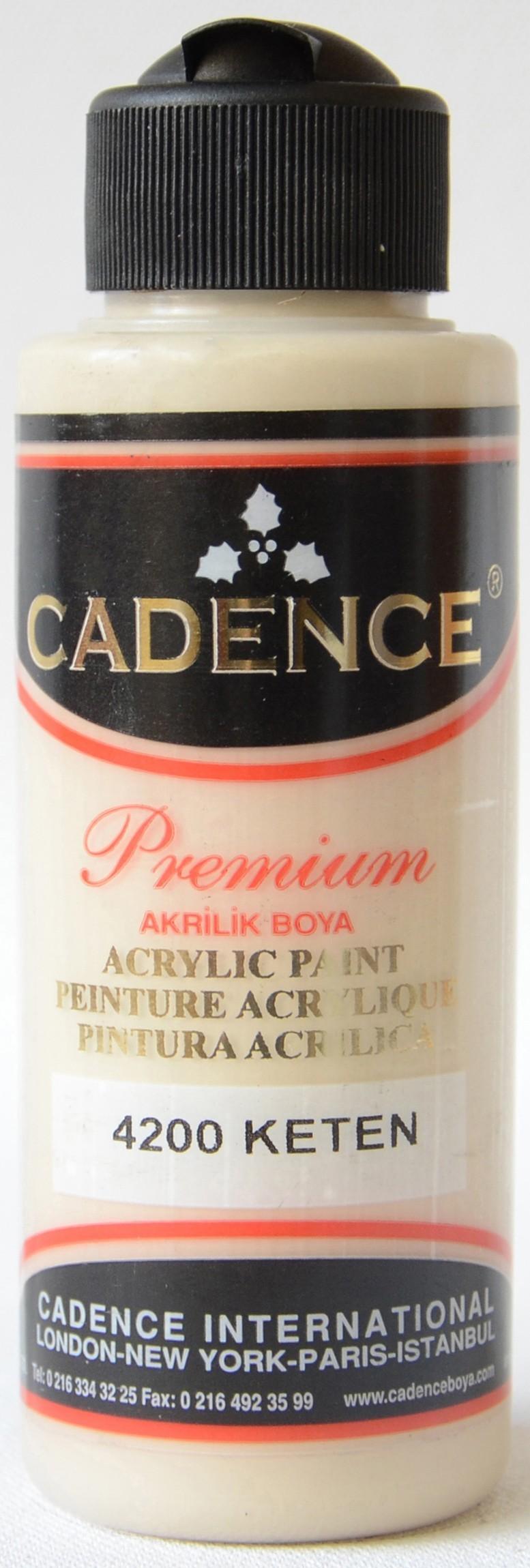 Cadence Akrilik Boya 120ML(cc) 4200 Keten renkleri