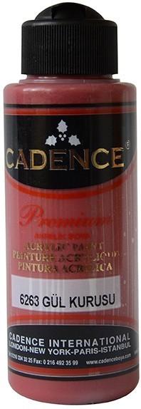 Cadence Akrilik Boya 120ML(cc) 6263 Gül Kurusu renkleri