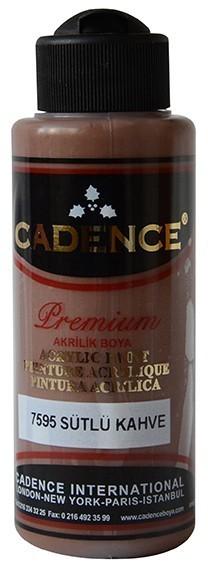 Cadence Akrilik Boya 120ML(cc) 7595 Sütlü Kahve renkleri