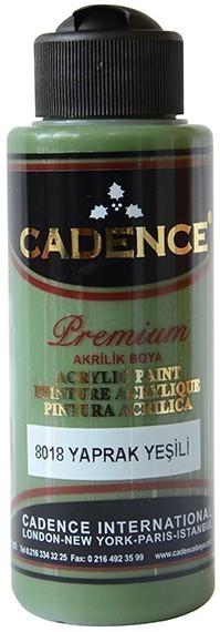Cadence Akrilik Boya 120ML(cc) 8018 Yaprak Yeşili renkleri