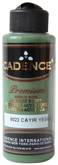 Cadence Akrilik Boya 120ML(cc) 8022 Çayır Yeşili renkleri