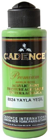 Cadence Akrilik Boya 120ML(cc) 8024 Yayla Yeşili renkleri