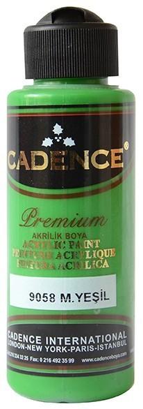 Cadence Akrilik Boya 120ML(cc) 9058 M. Yeşil renkleri