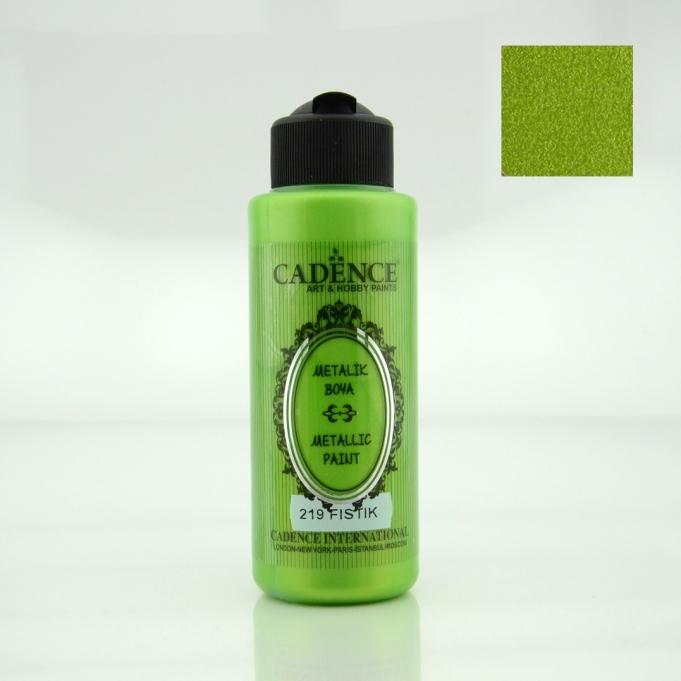Fıstık Yeşili Rengi Cadence Metalik Boya 120ML (219) renkleri