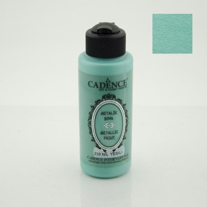 Nil Yeşili Rengi Cadence Metalik Boya 120ML (239) renkleri