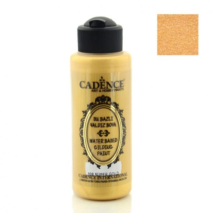108 Süper Altın-Yaldız Boya 120ML(cc) renkleri