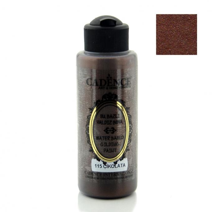 115 Çikolata-Yaldız Boya 120ML(cc) renkleri