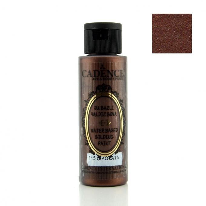 115 Çikolata-Su Bazlı Yaldız 70ML(cc) renkleri