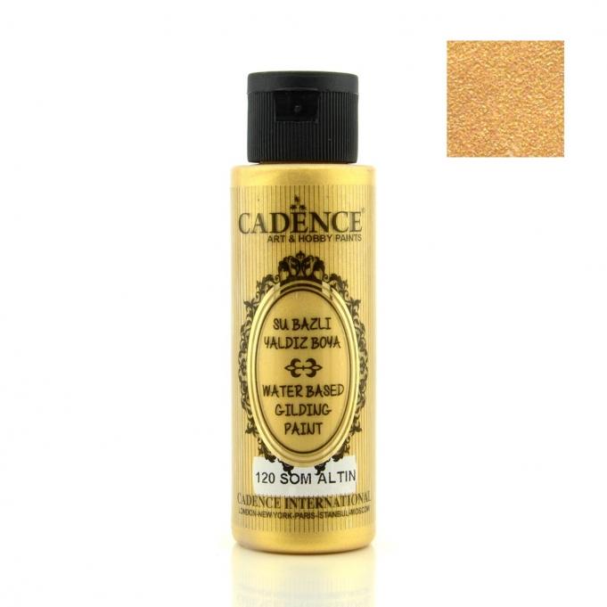 120 Som Altın-Su Bazlı Yaldız 70ML(cc) renkleri