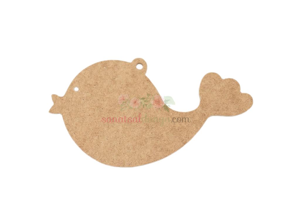 Ahşap Balık Figürü (MDF Obje)