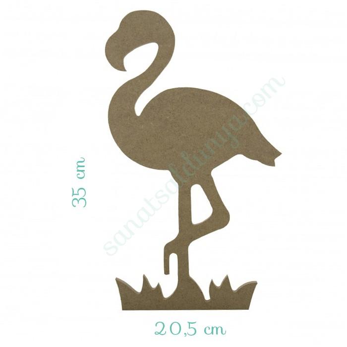Flamingo Ahşap Büyük (MDF)