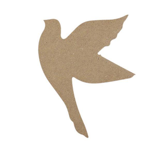 Güvercin - (MDF Obje)