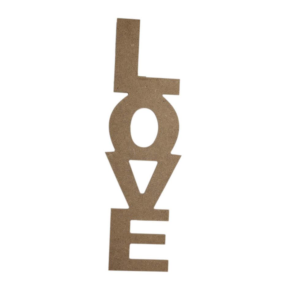 LOVE Dekoratif  - (MDF Obje)