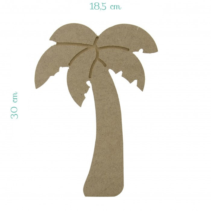 Palmiye Model Ahşap Büyük (MDF)