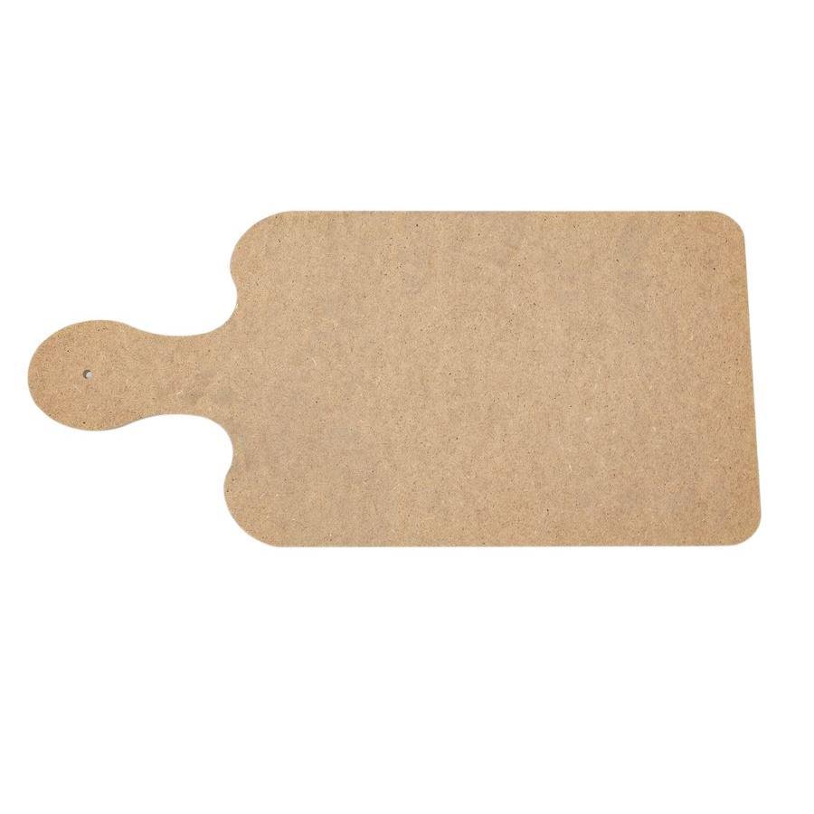 Saplı Ahşap Supla / Ekmek Tahtası (MDF)