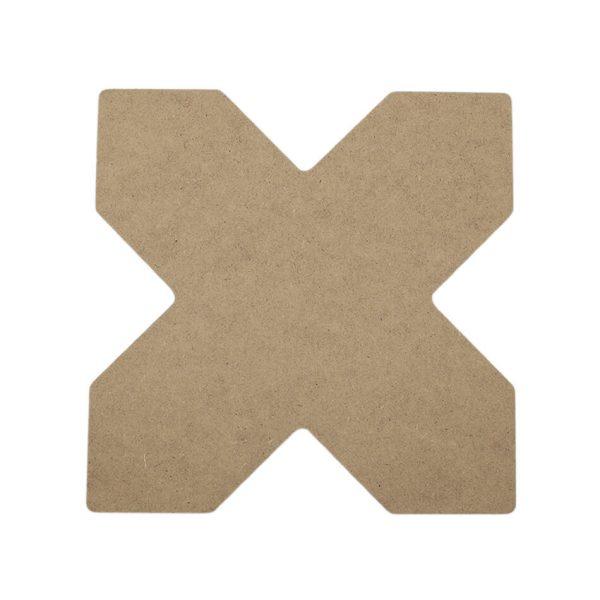 X Dekoratif Duvar Süsü - (MDF Obje)