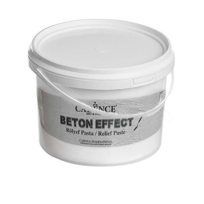 Cadence Beton Efekt 3 KG - Rölyef Pasta