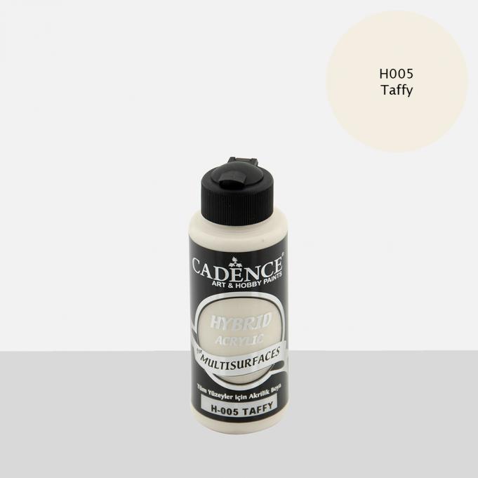 Cadence Hobi Boya | Taffy Renk  | Tüm Yüzeyler için Boya | Sanatsal Hobi Marketi 120, 500, 2LT