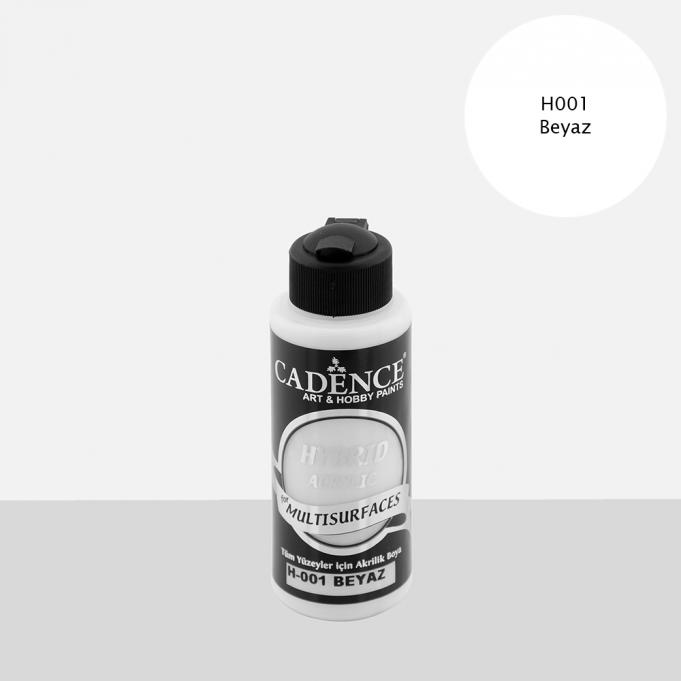 Cadence Hobi Boya | Beyaz Renk  | Tüm Yüzeyler için Boya | Sanatsal Hobi Marketi