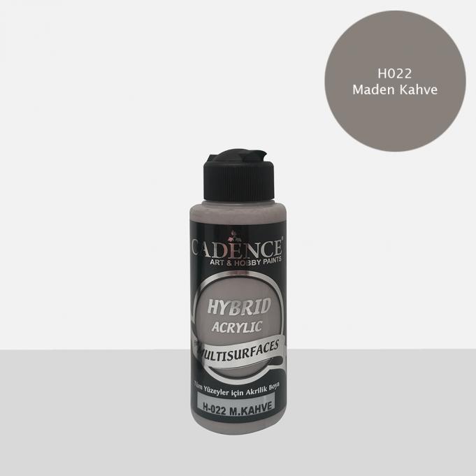 M. Kahve  Cadence Multisurface Akrilik Boya H022 - 120 ML