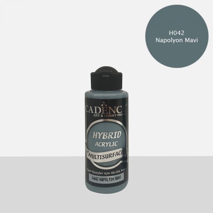 Napolyon Mavi Cadence Multisurface Akrilik Boya H042 - 120 ML