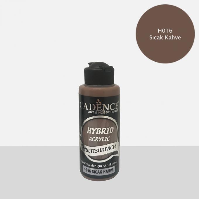 Sıcak Kahve Cadence Multisurface Akrilik Boya H016 - 120 ML
