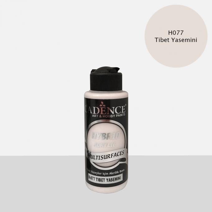 Tibet Yasemini Cadence Multisurface Akrilik Boya H077 - 120 ML