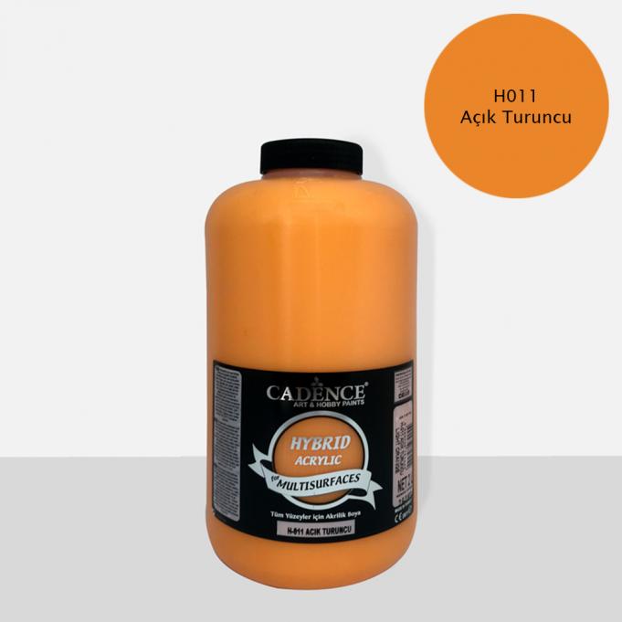 Cadence Hobi Boya | Açık Turuncu Renk  | Tüm Yüzeyler için Boya | Sanatsal Hobi Marketi 120, 500, 2LT