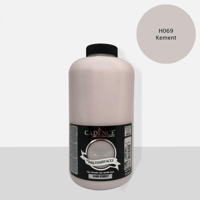 Kement Cadence Multisurface Akrilik Boya H069 - 2000 ML