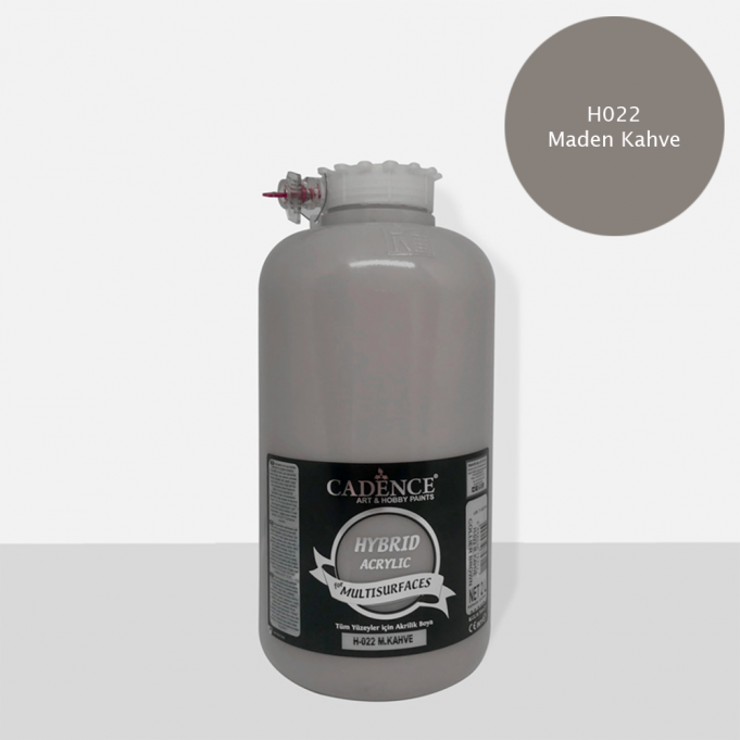 M. Kahve Cadence Multisurface Akrilik Boya H022 - 2000 ML