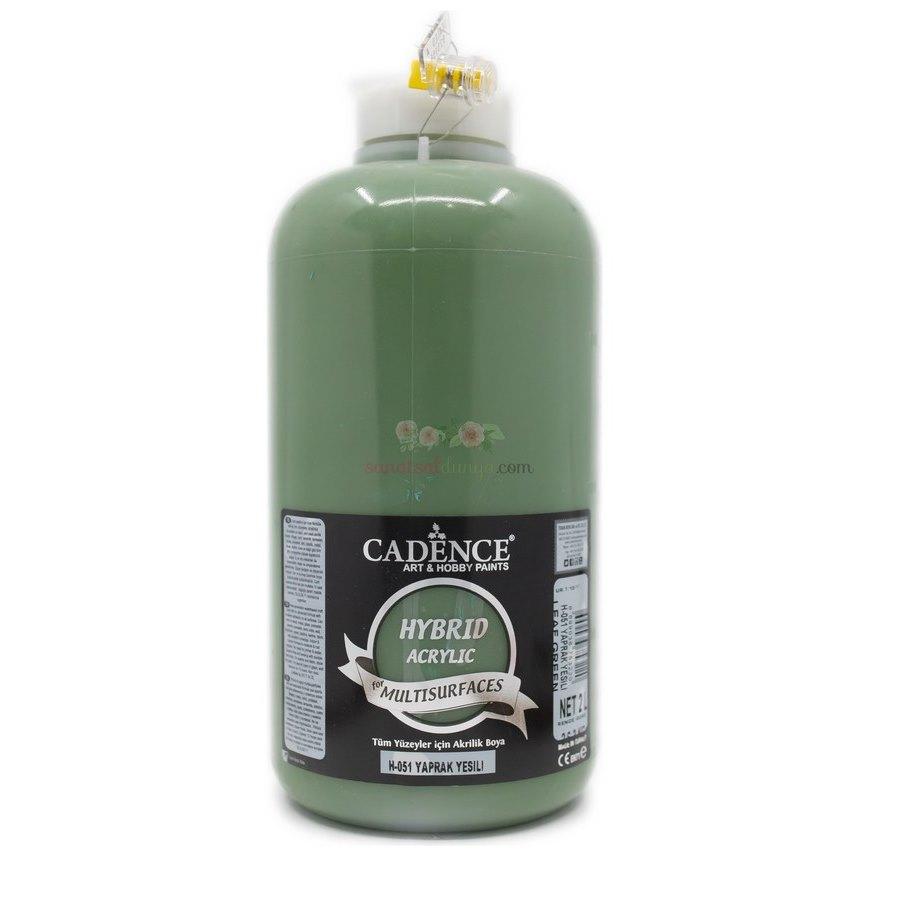 Yaprak Yeşil Cadence Multisurface Akrilik Boya H051 - 2000 ML