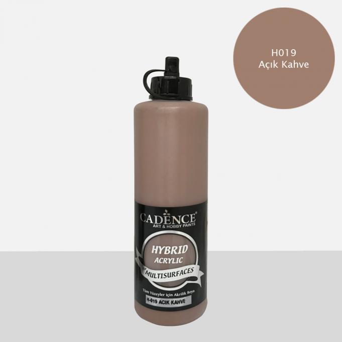 Açık Kahve Cadence Multisurface Akrilik Boya H019 - 500 ML