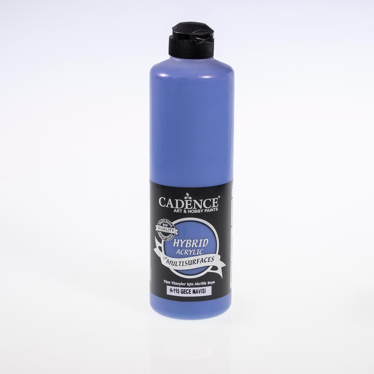 Gece Mavisi Cadence Multisurface Akrilik Boya H115 - 500 ML
