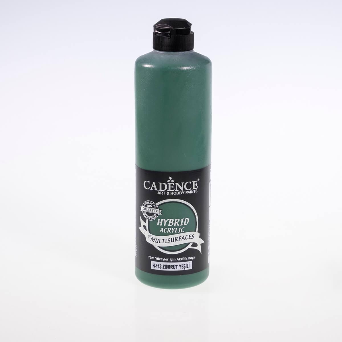 Zümrüt Yeşili Cadence Multisurface Akrilik Boya H113 - 500 ML