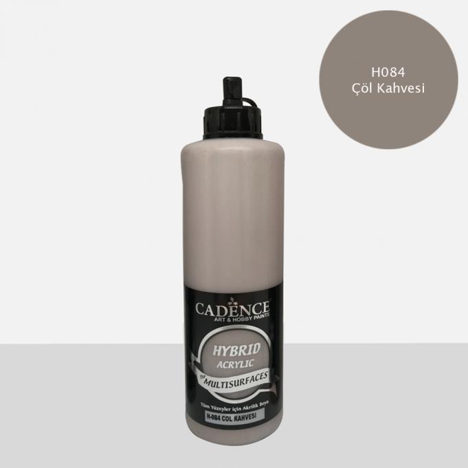 Çöl Kahvesi Cadence Multisurface Akrilik Boya H084 - 500 ML