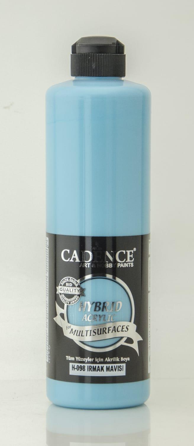 Irmak Mavisi Cadence Multisurface Akrilik Boya H098 - 500 ML
