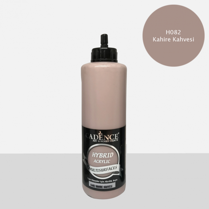 Kahire Kahvesi Cadence Multisurface Akrilik Boya H082 - 500 ML