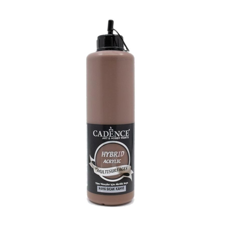 Sıcak Kahve Cadence Multisurface Akrilik Boya H016 - 500 ML