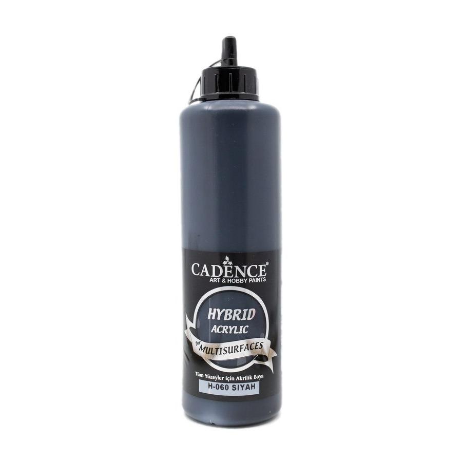 Siyah Cadence Multisurface Akrilik Boya H060 - 500 ML