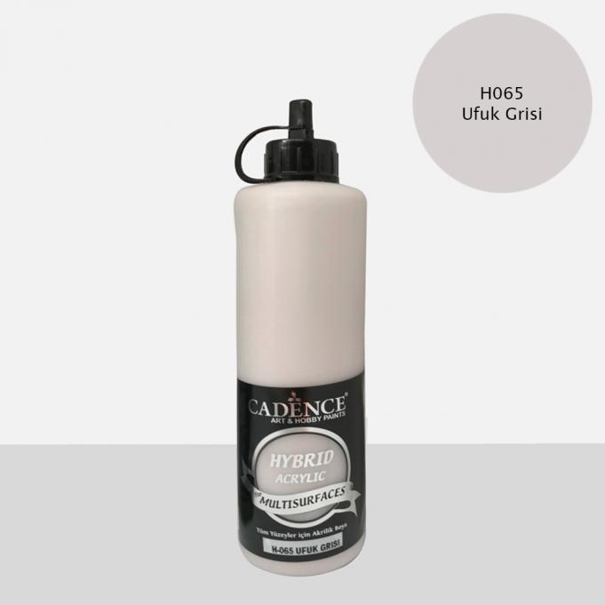 Ufuk Gri Cadence Multisurface Akrilik Boya H065 - 500 ML