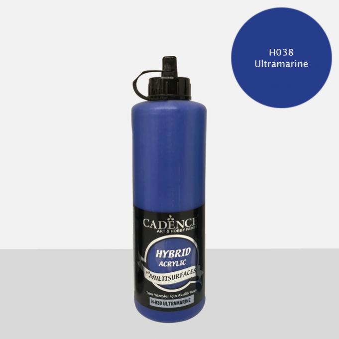 Ultramarine Cadence Multisurface Akrilik Boya H038 - 500 ML