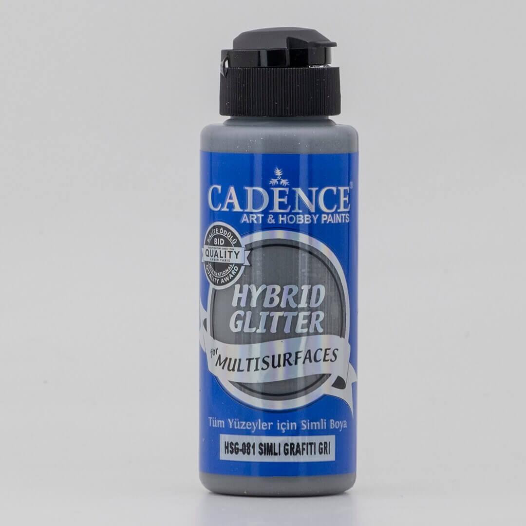 Grafiti Gri Cadence Multisurface Gümüş Simli Akrilik Boya HSG081 - 120 ML