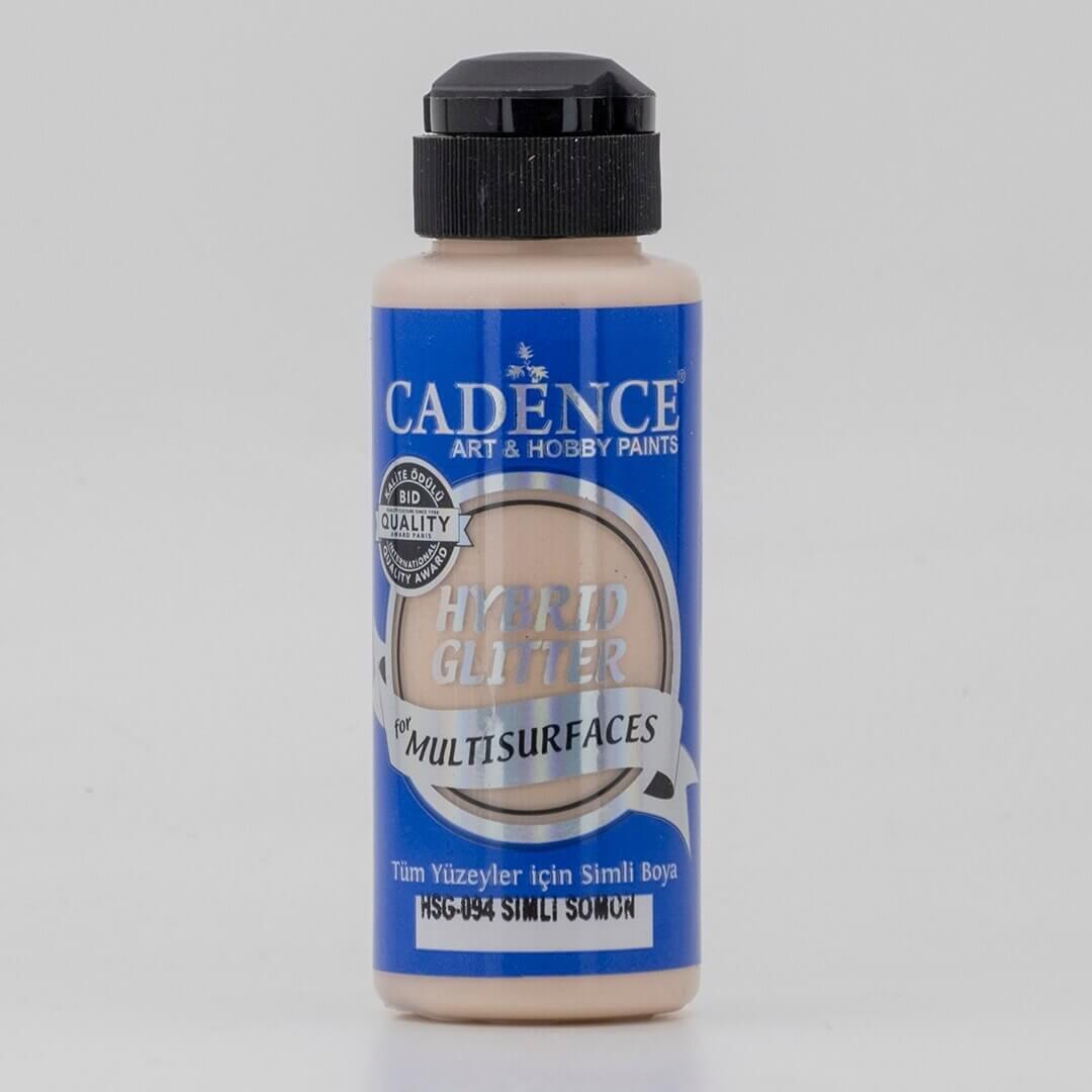 Somon Cadence Multisurface Gümüş Simli Akrilik Boya HSG094 - 120 ML