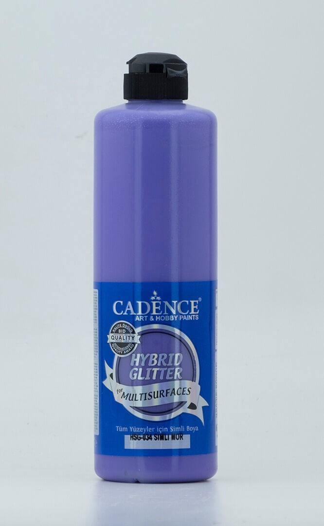 Mor Cadence Multisurface Gümüş Simli Akrilik Boya HSG034 - 500 ML
